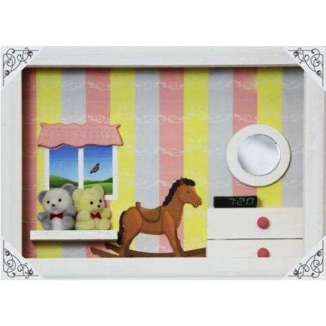 Bear Bedroom Shadow Box