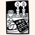 Shabbos Velvet Art