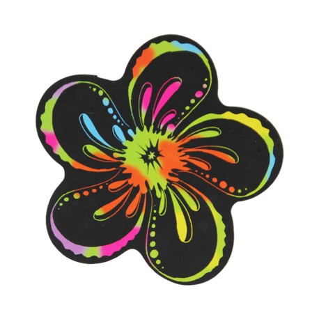 Flower Scratch Art Magnet
