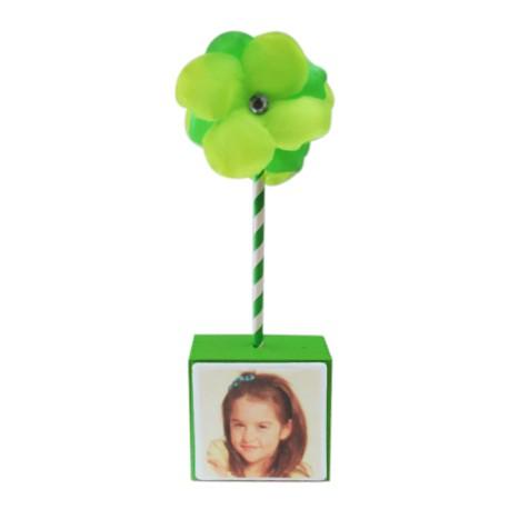 Photo Flower Centerpiece