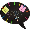 Speech Bubble Chalk Message Board