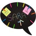 Speech Bubble Chalk Message Board