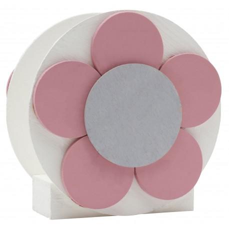 Round Flower Napkin Holder