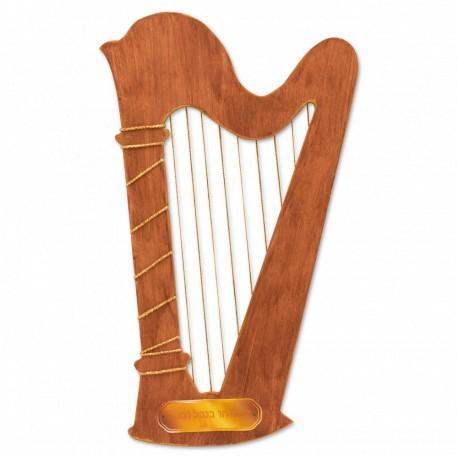 Gold Stringed Harp