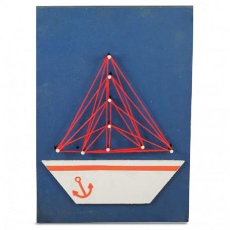 Sailboat String Art