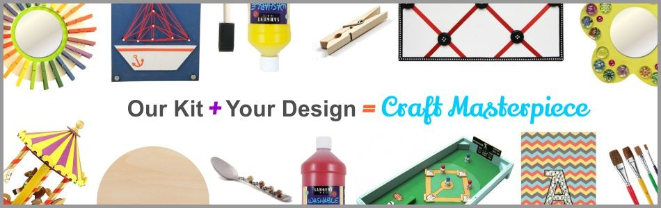 Our Kit + Your Design = Craft Masterpiece